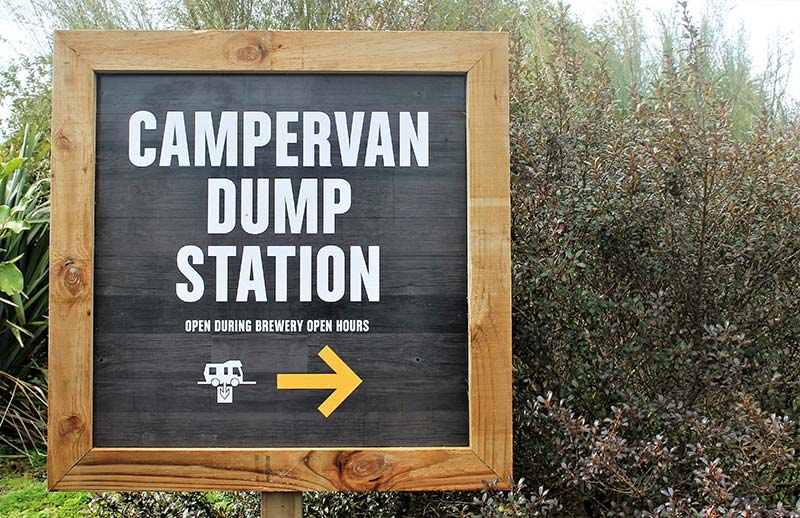 Dump Station in Wairarapa